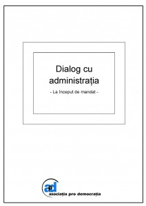 Dialog cu administratia (2)